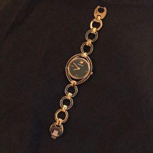 Swarovski Stella rose gold watch